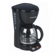 Ръчна шварц кафемашина Singer SFC 610 BK, 1000W, функция Aroma, посточнен филтър, защита от прегряване, черна