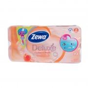 Hartie igienica Zewa Deluxe Piersica 3 straturi 8/set