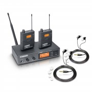 LD-Systems MEI 1000 G2 Set Sistema In-Ear inalámbrico UHF