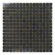 Douche Concurrent Mozaiektegel Amsterdam Black Pearl Glass 322x322