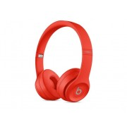 BEATS Auriculares Bluetooth BEATS Solo 3 (On ear - Micrófono - Atiende llamadas - Rojo)