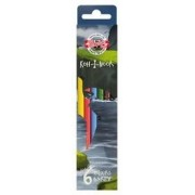 Set 6 creioane colorate DINO