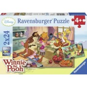 PUZZLE WINNIE THE POOH 2x24 PIESE Ravensburger
