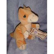 "Precious Moments Tender Tails Iguanodon Plush Bean 7"" Dinosaur"