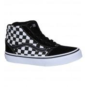 Vans Ward Hi Zwarte Skateschoenen