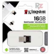 Pen Drive Kingston 16gb Datatravel 3.0 Duo Otg (celus Y Pc)