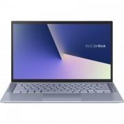 Laptop utraportabil ASUS ZenBook 14 UX431FA-AM139 cu procesor Intel Core i7-10510U pana la 4.90 GHz Comet Lake, 14 , Full HD, 8GB, 512GB SSD, Intel UHD Graphics, Free DOS, Utopia Blue Metal