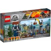 LEGO Jurassic World, Atacul avanpostului cu Dilophosaurus 75931