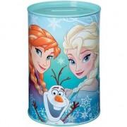 Disney Mint groene Disney Frozen spaarpot blik 15 cm voor meisjes