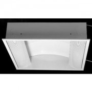 Corp incastrat Grey Side iluminat fluorescent 2x36W