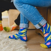 Set 5 perechi sosete colorate Artistice