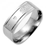 J. Goodin Love Script Eternity Band Ring STR0124V-C00
