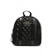 LOVE Moschino Croc Embossed Backpack BLACK