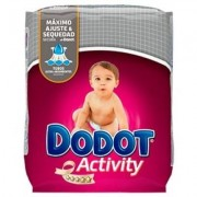 Dodot pañal activity t4 8-14 kg 62 unidades