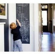 Samolepiaca tabuľa pre deti čierna 45x200cm + 5x krieda