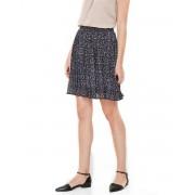 VERO MODA Retro Floral Skirt Navy
