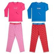 Lief! en Stoer! Pyjama-122/128-Jongens