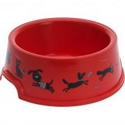 Vas Cane, pentru animale de companie, roşu, diam. 16,5 cm