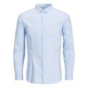 JACK & JONES Super Slim Overhemd Met Lange Mouwen Heren Blauw / CashmereBlue / M