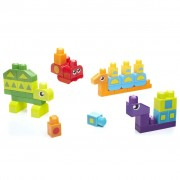 Mega Bloks First Builders 40 Piece Learn Shapes Building Set DXH34