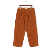 【50%OFF】コーデュロイ タックパンツ ブラウン 34 ファッション > メンズウエア~~パンツ