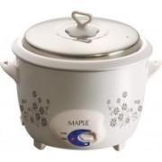 MAPLE Fiesta Electric Rice Cooker(2.8 L, White)