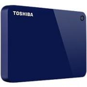 Toshiba 2 TB External Portable Hard Drive Canvio Advance USB 3.0 Blue