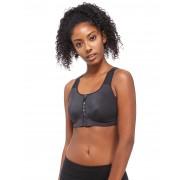 Nike Zip Sports Bra - Zwart - Dames