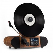 Auna Verticalo DAB, gramofon retro, dab +, tuner fm, usb, bt, aux, alarmă (TTS9-Verticalo DAB)