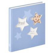 Walther Estrella blue 28x30,5 50 white Pages Babyalbum UK133L