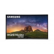 "Samsung Monitor Curvo 32"" Samsung Lc32jg50qquxen Led Wqhd 144 Hz Hdmi Dark Silver Refurbished Senza Base"