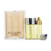Allure Eau De Toilette Purse Spray And 2 Refills 3x15ml/0.5oz Allure Тоалетна Вода Спрей за Дамска Чанта и 2 Пълнителя
