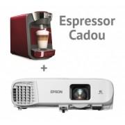 Video proiector EPSON EB-980W, WXGA, 3800 lumeni + cadou Espressor BOSCH Tassimo Suny TAS3203