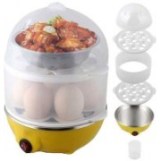 GOCART Double Decker Latest Technology Double layers egg boiler Egg Cooker(15 Eggs)