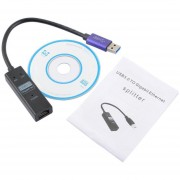 Portatil USB 3.0 A RJ45 Gigabit Ethernet Para PC Y Otros Dispositivos