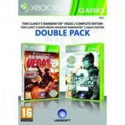 Игра Tom Clancys Rainbow Six Vegas 2 + Tom Clancy sGhost Recon 2 Xbox 360