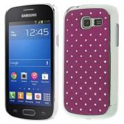Capa Bling Diamond para Samsung Galaxy Fresh S7390 - Roxo