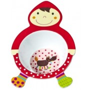 Детская глубокая тарелка Ebulobo Красная Шапочка