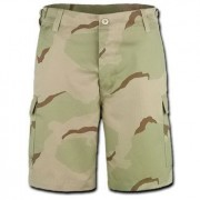 Pantalon corto camuflaje desierto