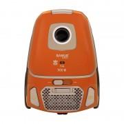 Aspirator Eco-Power Samus Excellence, 900 W, sac 3 l, filtru HEPA, accesorii incluse, Portocaliu