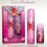 Cuba Heart Breaker - zestaw, woda perfumowana, roll on
