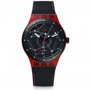 Reloj Swatch SUTR400-Negro Con Rojo