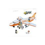 Blocos de Montar Banbao Transporte Avião de Carga - 660 Peças
