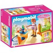 Playmobil dollhouse cameretta con fasciatoio
