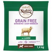 1,4кг Grain Free Adult Dog Nutro, суха храна за кучета, с агнешко