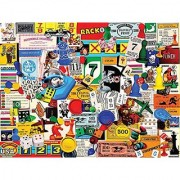 White Mountain Puzzles Game Pieces - 1000 Piece Jigsaw Puzzle