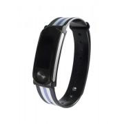 "Leotec LEPFIT10K4 rilevatore di attività Wristband activity tracker Nero, Viola, Bianco IPX7 OLED 2,44 cm (0.96"") Senza fili"