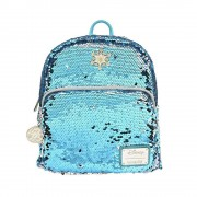 Loungefly Disney by Loungefly Backpack Elsa Reversible Sequin