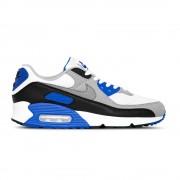 Nike Sneakers Air Max 90 Bianco Blu Uomo EUR 44 / US 10