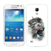 Husa Samsung Galaxy S4 Mini i9190 i9195 Silicon Gel Tpu Model The King